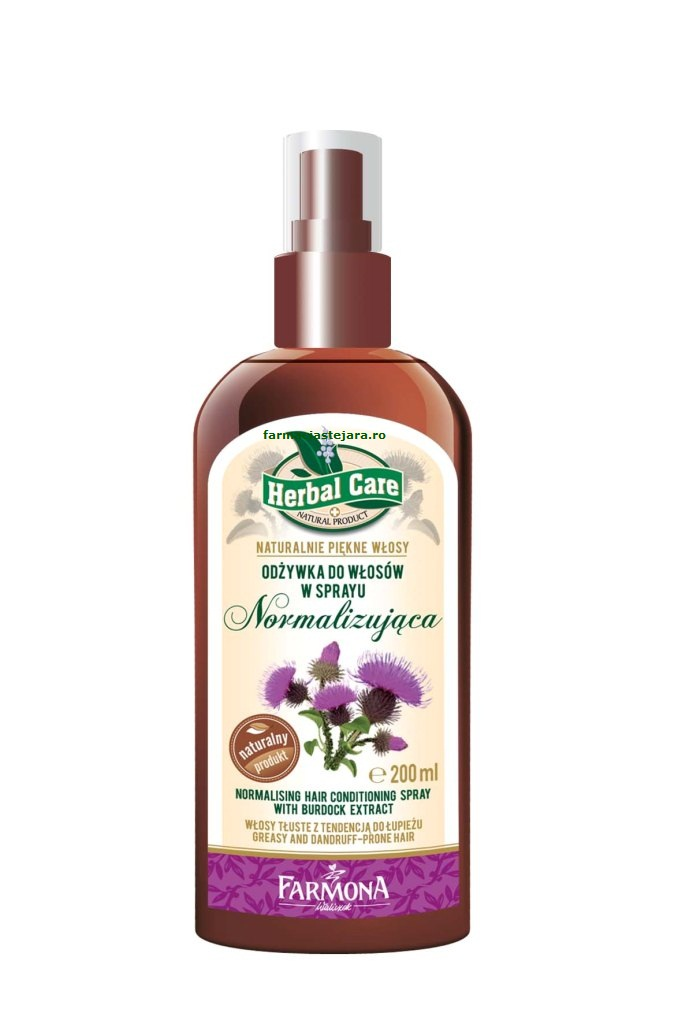Farmona Spray-balsam normalizator par gras Herbal Care 200ml